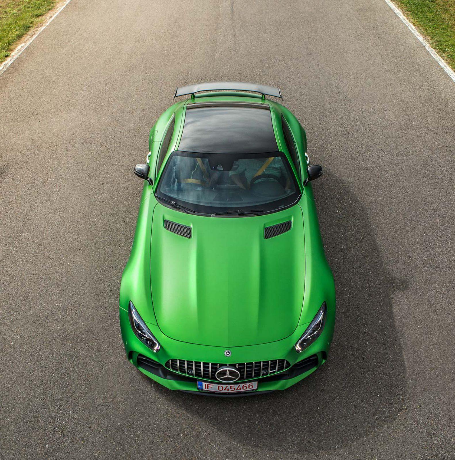 Mercedes-Benz AMG GT – beast of Green Hell
